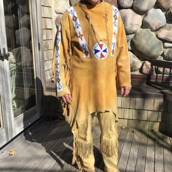 Cheyenne Hunting Shirt Front