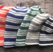Striped FeltedToques