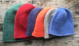 Felted Single toques